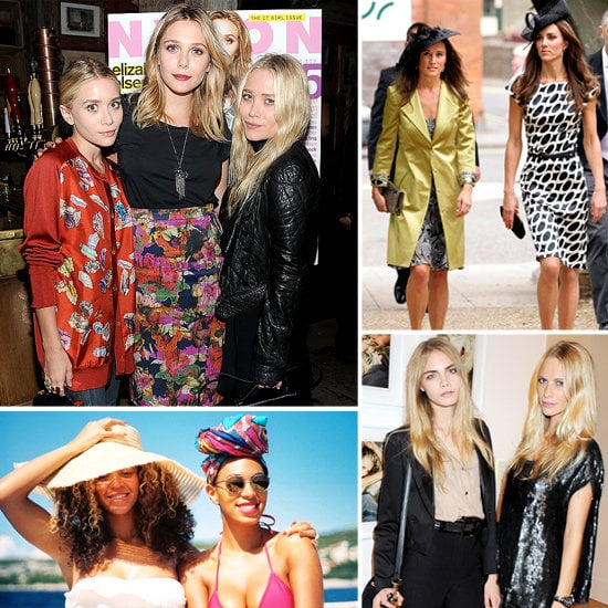 All in the family: 33 of our favorite style-setting sisters. Get ready for a fashionable tour de force of sisterly style.