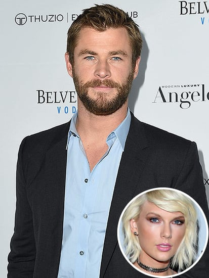 Chris Hemsworth Says Tom Hiddleston Seems 'Happy' with Taylor Swift and Wants the Singer to Sing a 'Couple of Tunes' for His Dau