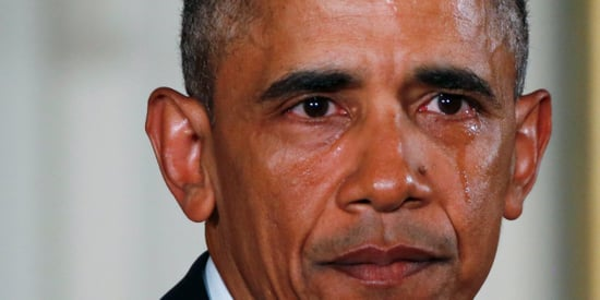 Barack Obama openly crying could help him — here's why people find a leader's tears moving