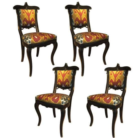 Casa Craving Recap:  A Table(scape) For These Chairs