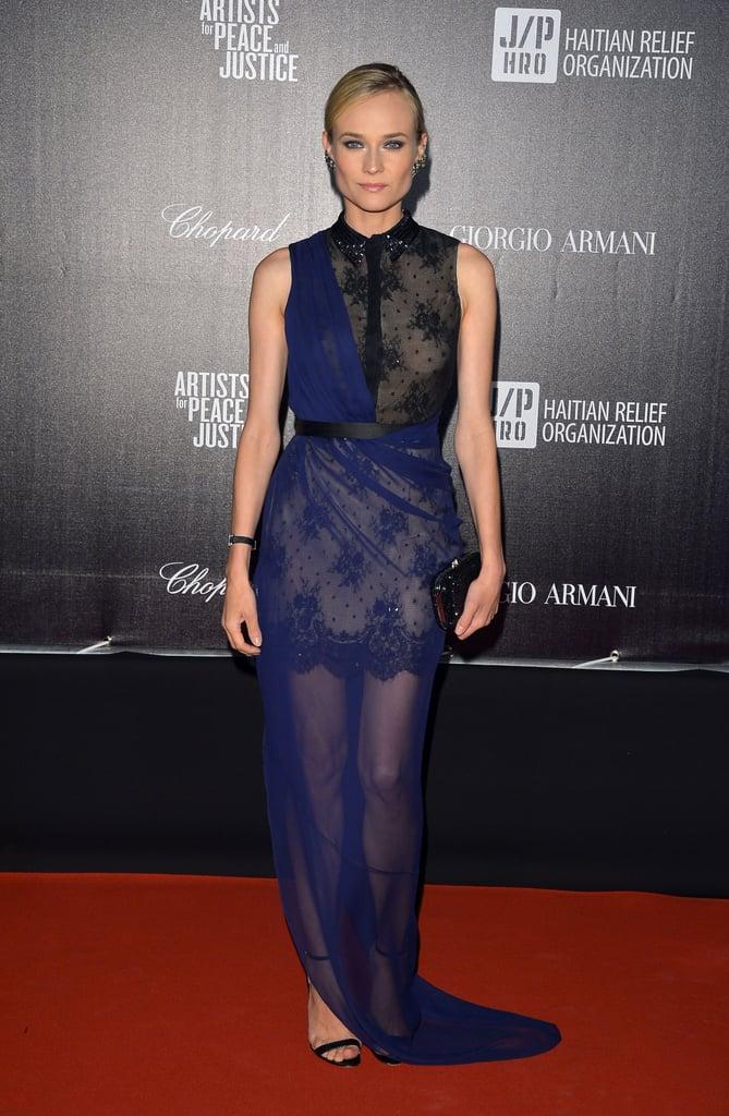 Diane Kruger Cannes Film Festival Lookbook