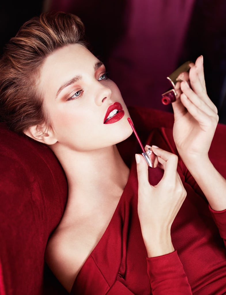 Natalia Vodianova stuns as the newest face of Guerlain's beauty campaign.