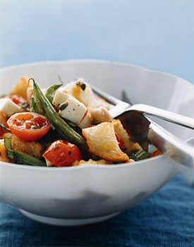 Monday's Leftovers: Roasted Vegetable Panzanella