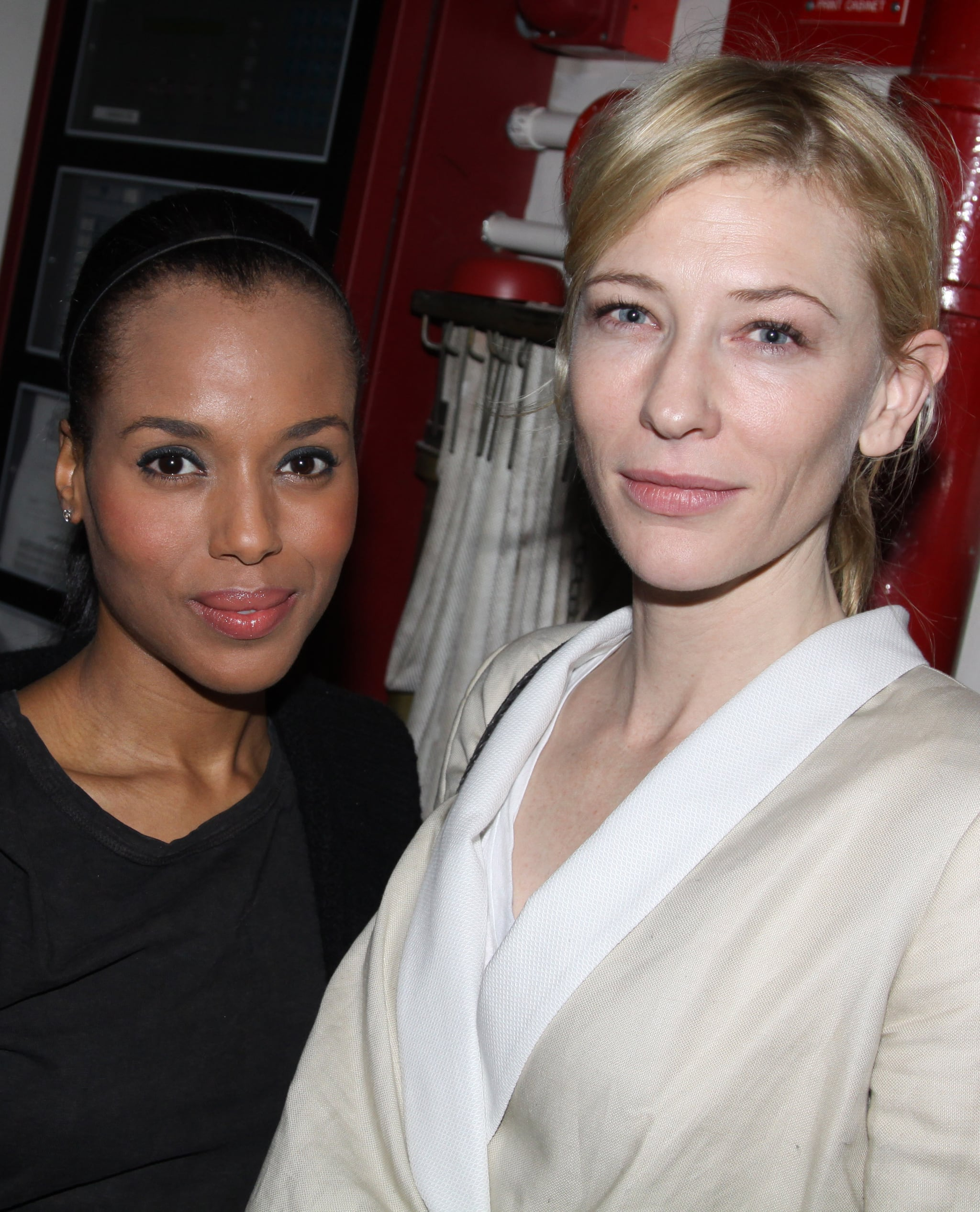 She Looks Fresh-Faced With Cate Blanchett