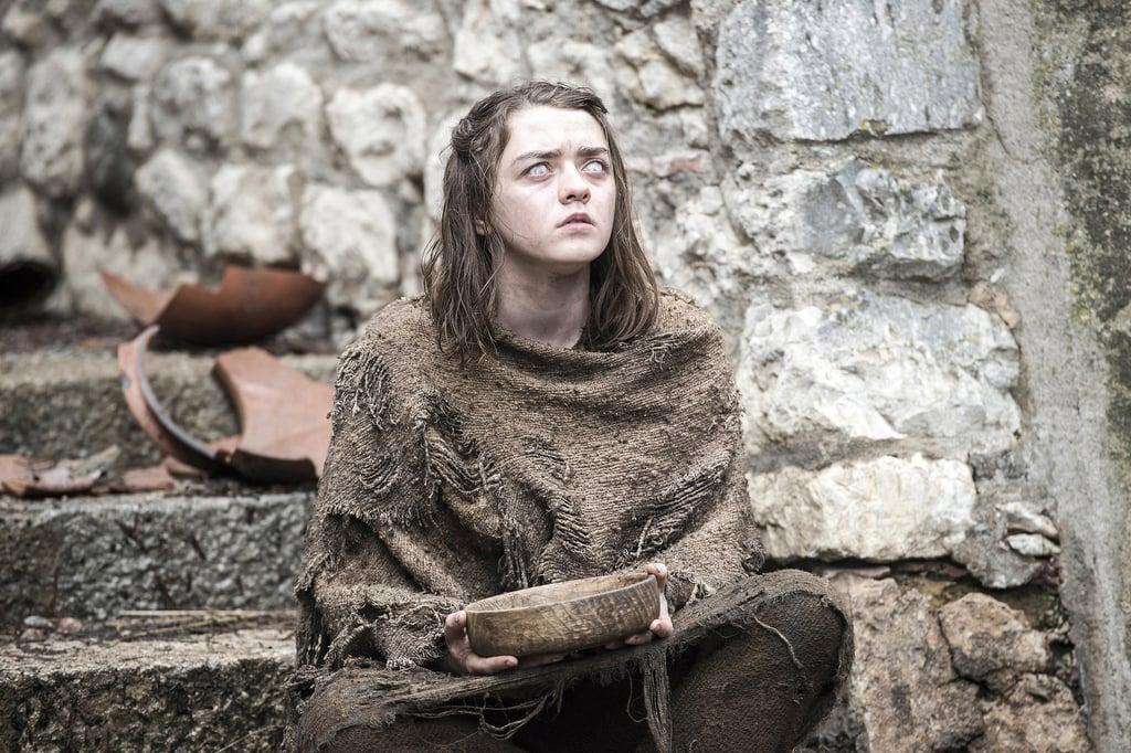 Arya Stark, Season Six