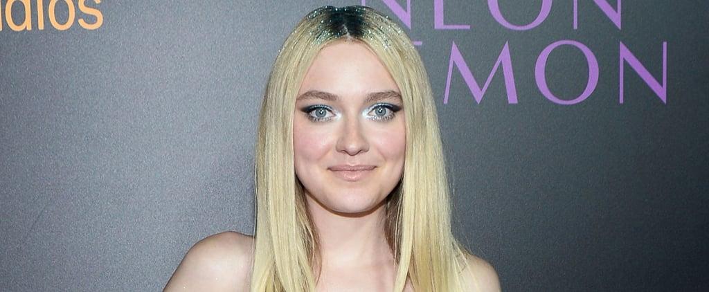 Dakota Fanning's Glitter Roots Break Every Beauty Rule in the Best Way