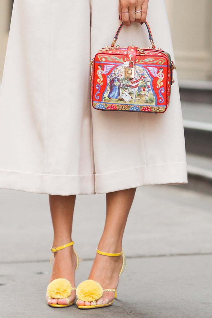 Instead of color-coordinating, try color-clashing to freshen up your Summer look.