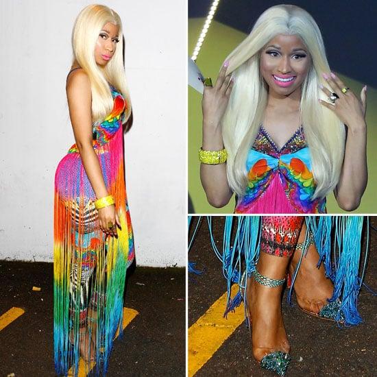 Pics of Nicki Minaj in Camilla Outfit at the 2012 ARIAs