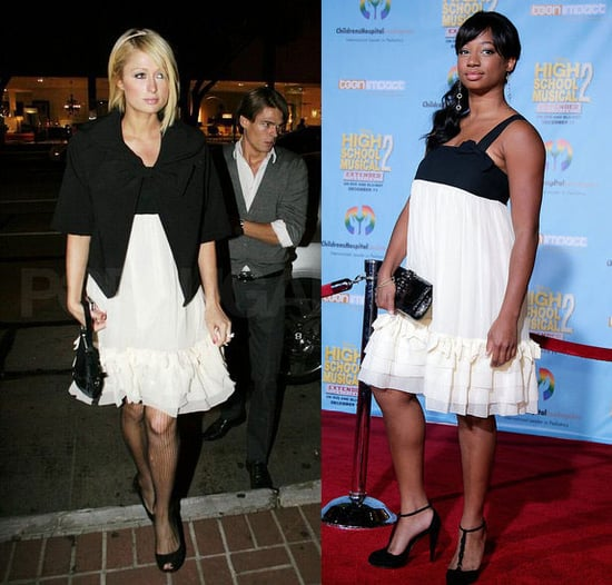 Who Wore It Better? Juicy Couture Chiffon Ruffle Dress