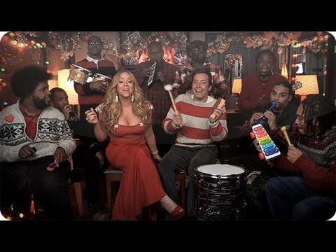 """""""All I Want For Christmas Is You"""" With Mariah Carey and The Roots"""