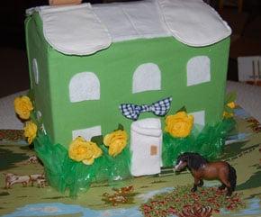 Diaper Cake Using Cloth Diapers