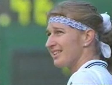 Steffi Graf Gets a Courtside Proposal