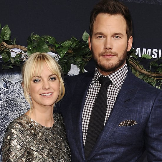 Chris Pratt and Anna Faris Watching the Olympics Videos