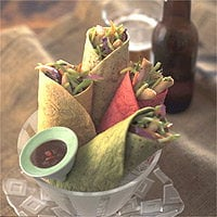 Today's Special: Thai Chicken-Broccoli Wraps