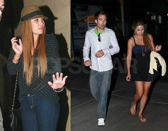 Photos of Lauren Conrad and Kyle Howard in Los Angeles