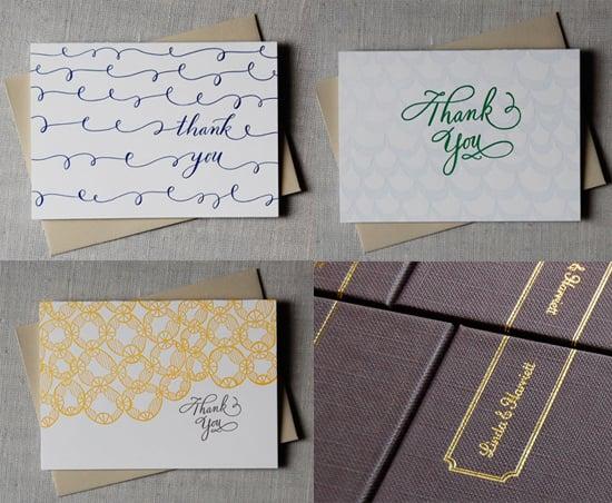 The Card Shop: Linda & Harriett Thank-You Note Box Sets
