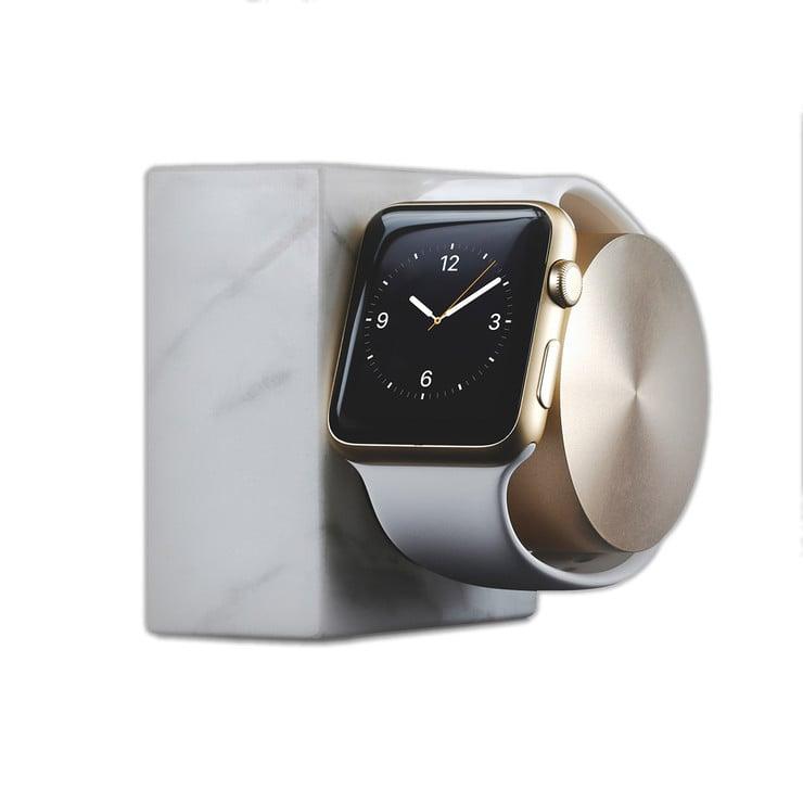 Marble Apple Watch Charging Dock