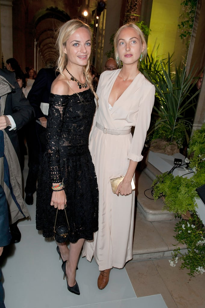 Virginie Courtin-Clarins and Claire Courtin-Clarins