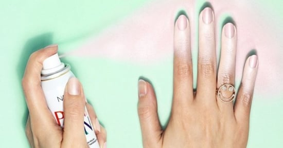 Spray-On Nail Polish Is Perfect For People Who Can't Paint Their Own Nails