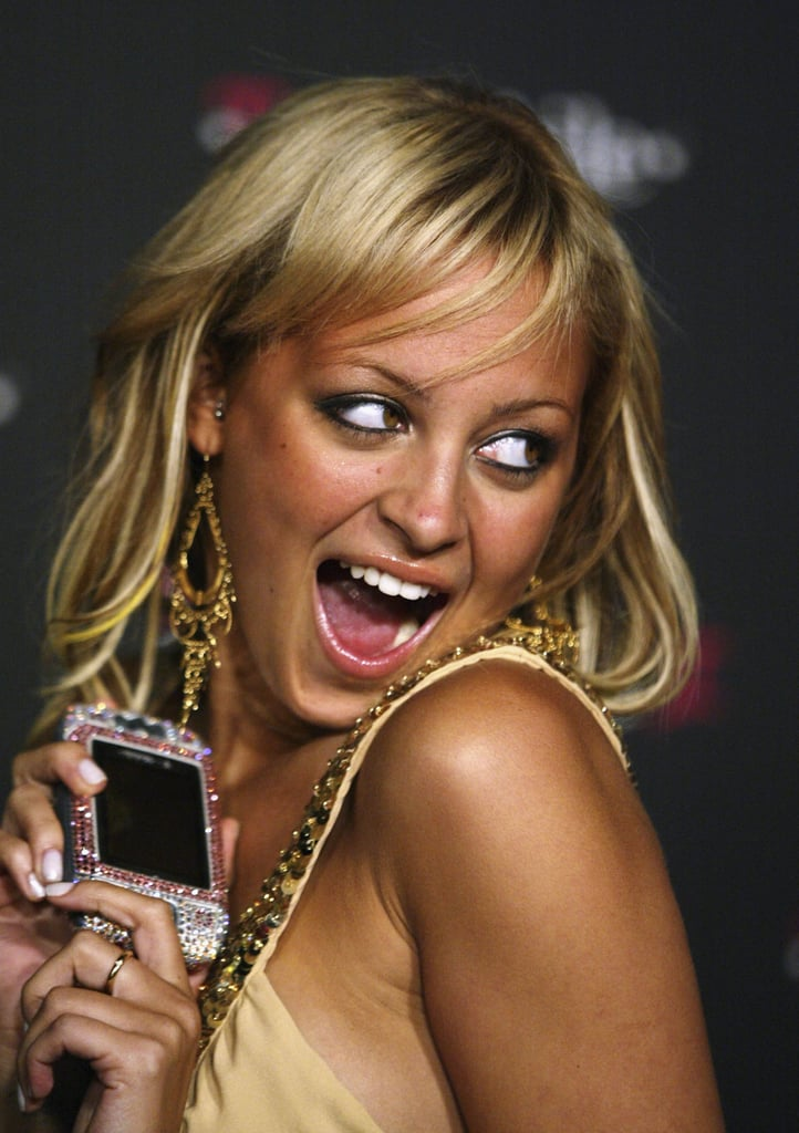 It's 2004, and a tan Nicole Ritchie can't wait to eat her rhinestone-covered T-Mobile Sidekick II.