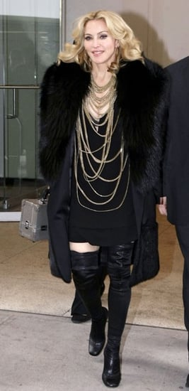 Madonna Wears Givenchy's Fall Collection in NYC