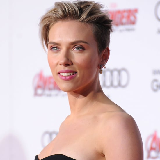 Scarlett Johansson at the Avengers Age of Ultron Premiere