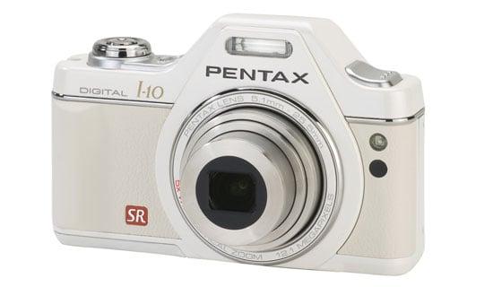Photos of the Pentax Optio I-10 Digital Camera