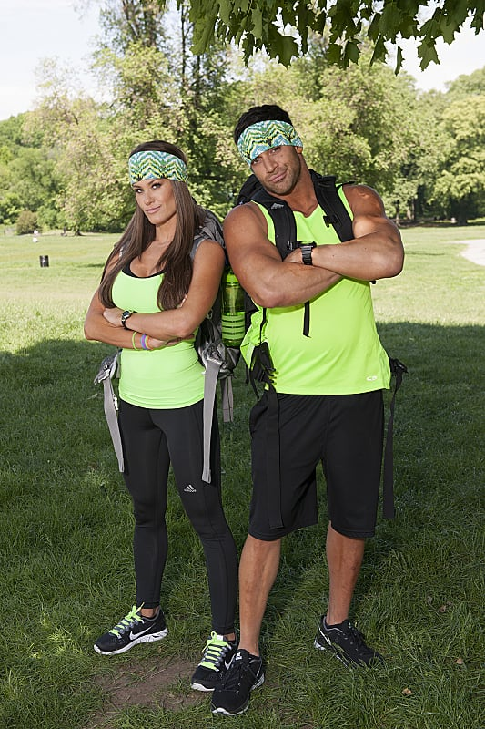 Names: Brooke Adams and Robbie E. Strauss Connection: Dating Ages: 29 and 30 Hometown: Houston, TX, and Woodbridge, NJ Hashtag: #TheWrestlers