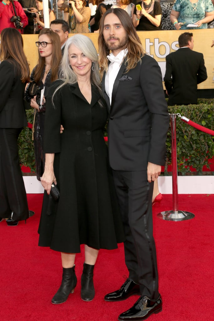 Jared Leto and Constance Leto