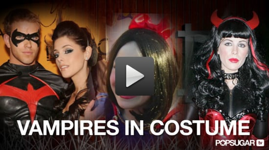Video of Twilight Stars in Costumes 2010-10-29 14:30:00