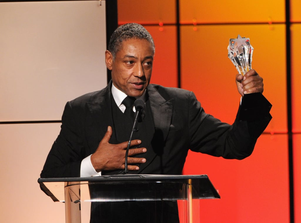 Giancarlo Esposito took home an award at the Critics' Choice Television Awards in LA.