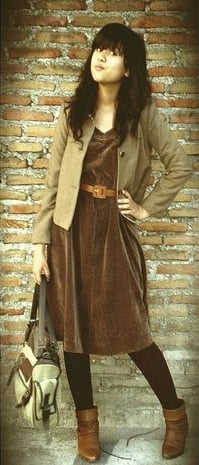 Look of the Day: Sepia Tone