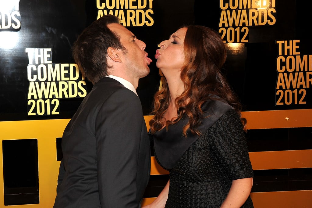 Maya Rudolph joked around with Will Arnett at the Comedy Awards in NYC.
