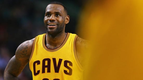 FROM SI: LeBron James Gives Game Shoes to Special Olympics Star