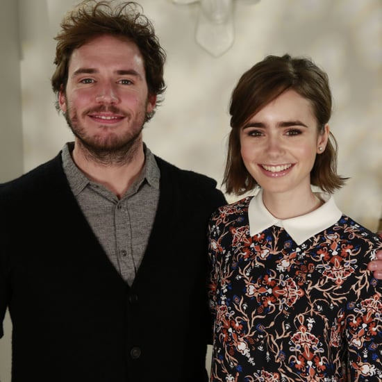 Sam Claflin and Lily Collins Love, Rosie Interview | Video
