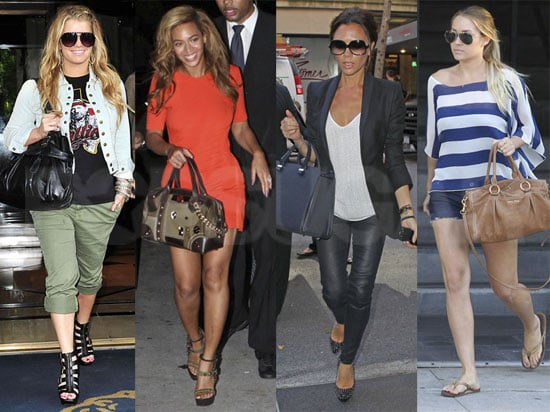 Which Star — Jessica Simpson, Lauren Conrad, Beyoncé or Victoria Beckham — Would You Shop With on Black Friday?