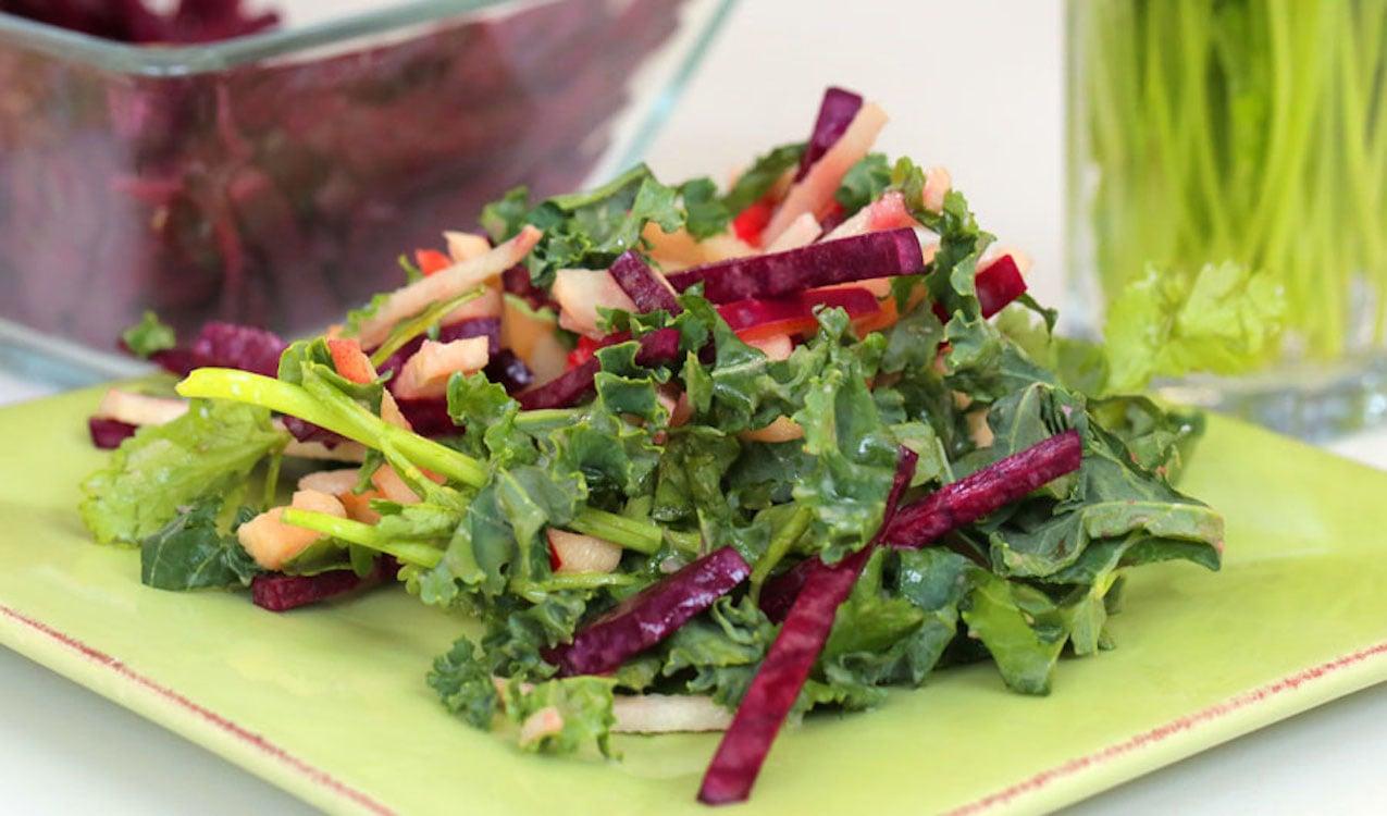 Apple, Jicama, and Beet Salad