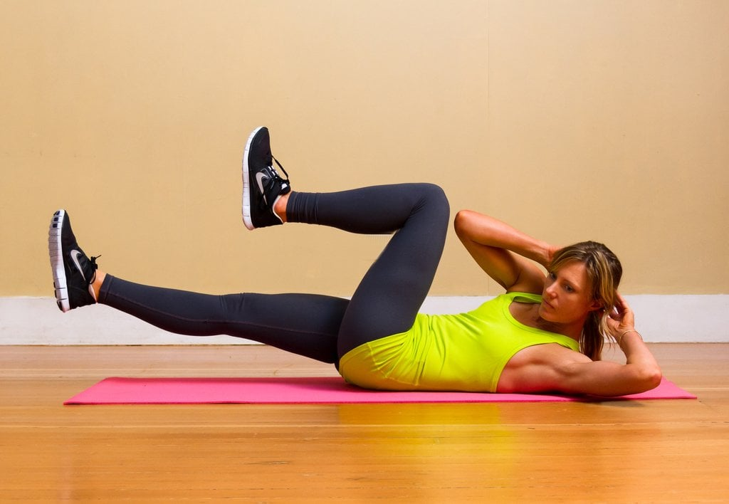 Oblique Crunches Exercise Ab Workouts & E...