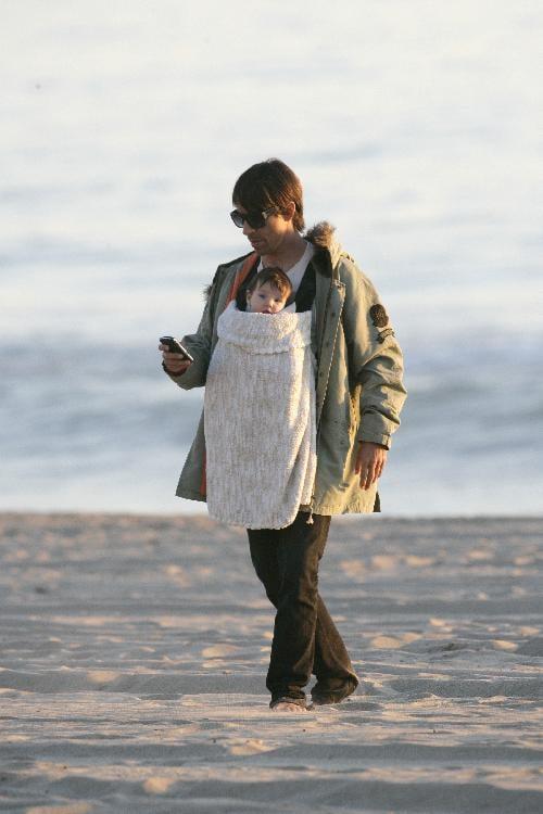 Mini Me: Anthony Kiedis and Everly Bear