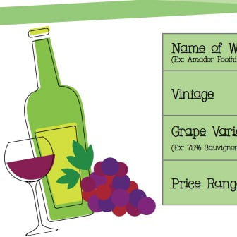 Printable Wine Tasting Notes
