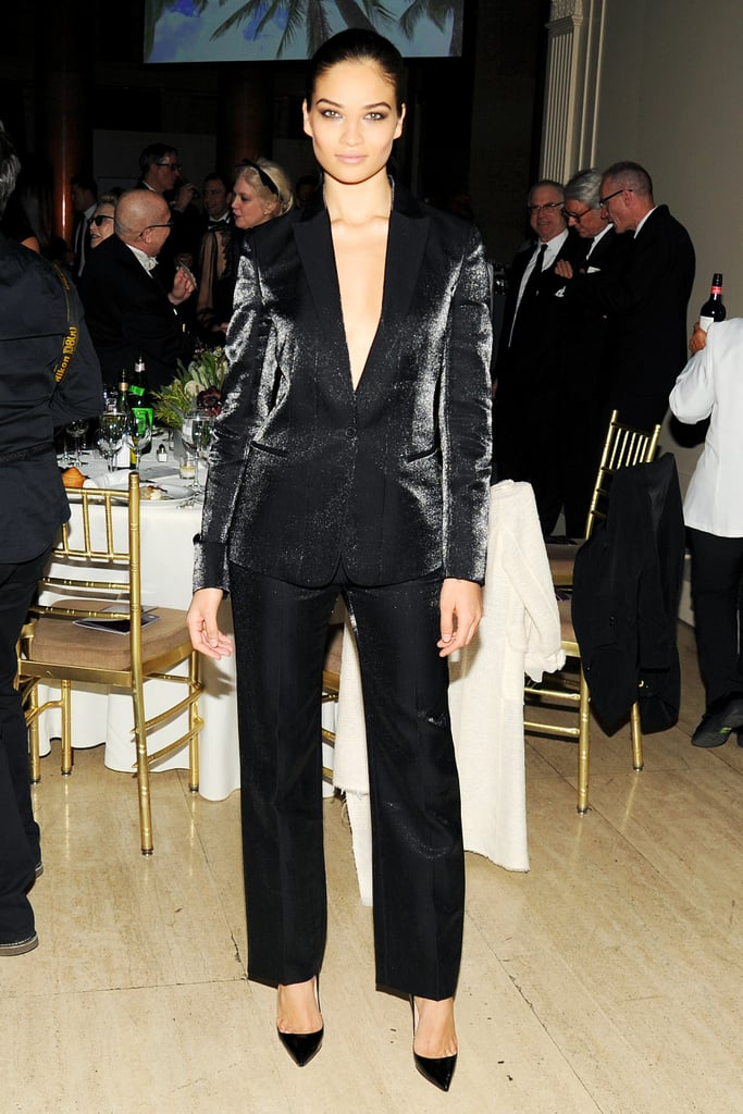 Shanina Shaik at the G'Day USA Gala.