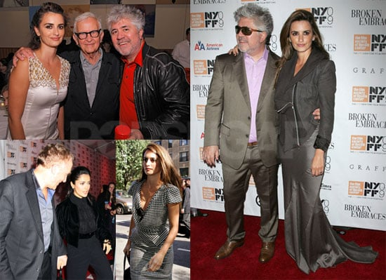 Photos of Penelope Cruz, Salma Hayek, Pedro Almodovar and Francois-Henri Pinault at Broken Embraces Events in NYC