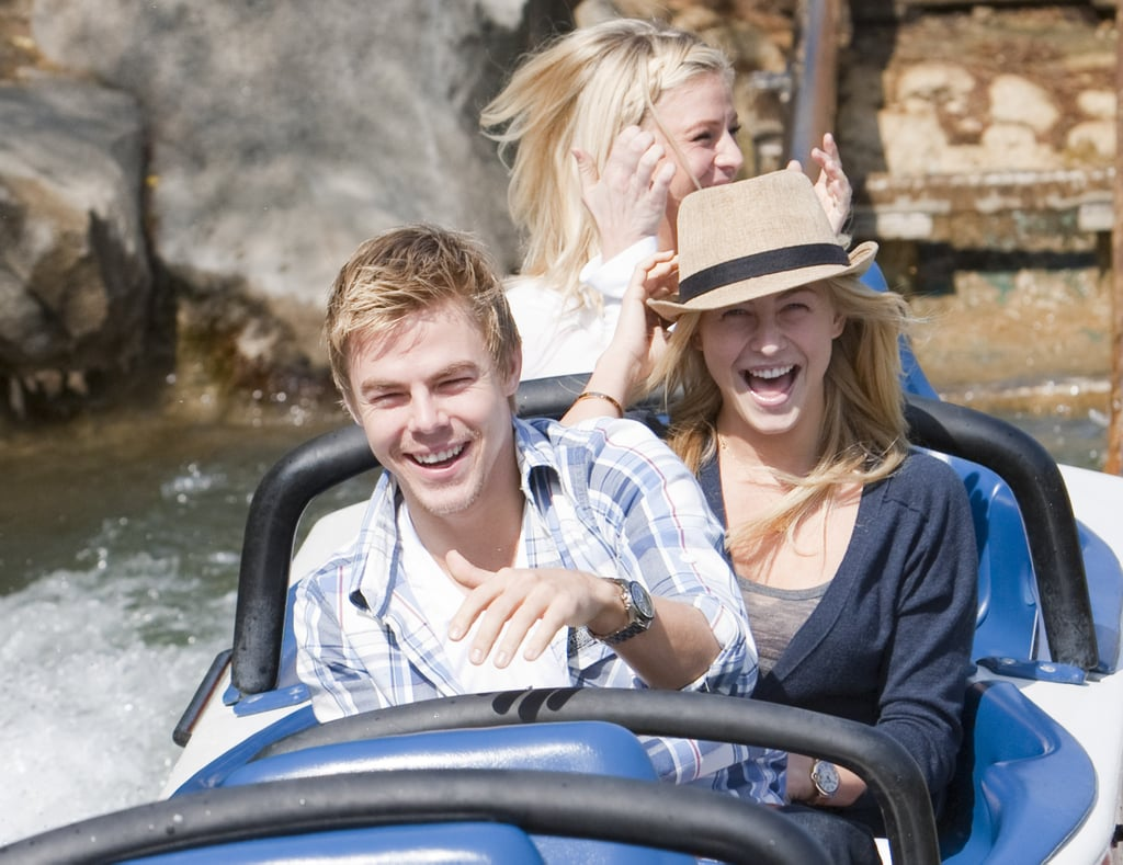 Julianne Hough and her brother, Derek, had some fun in March 2011 on the Matterhorn.