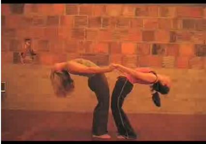 Partner Yoga Pose: The Fountain