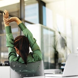 Stretches for Your Desk