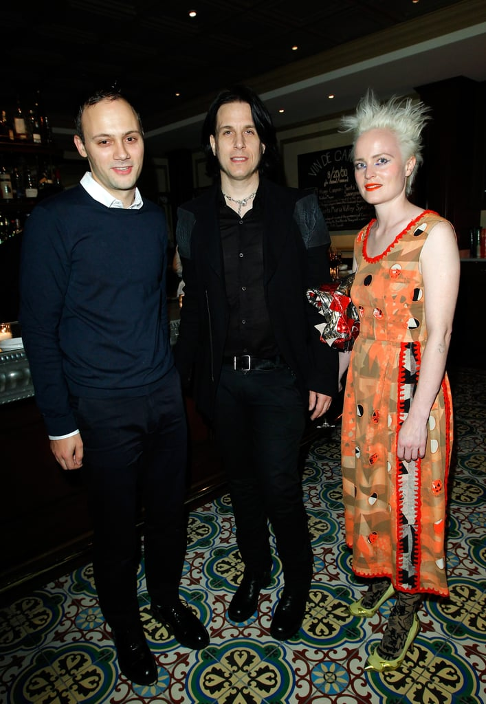 Michael van der Ham, Todd Lynn, and Louise Gray