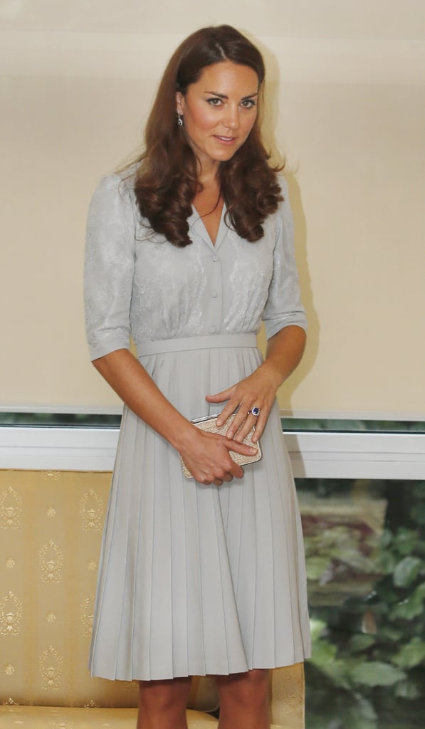 Kate Middleton gave a speech in Malaysia.