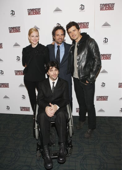 Orlando Bloom and Mark Ruffalo at a Screening of Sympathy For Delicious