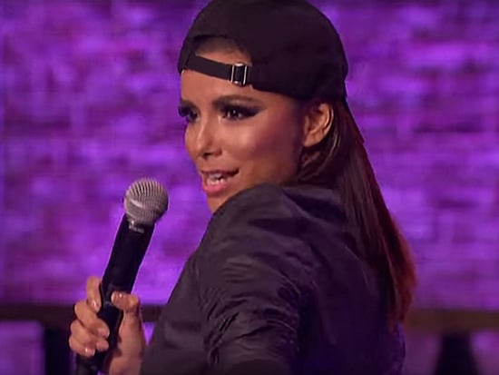 Eva Longoria Shows Off Her Rap Skills - and Apple Bottom Jeans - on Lip Sync Battle
