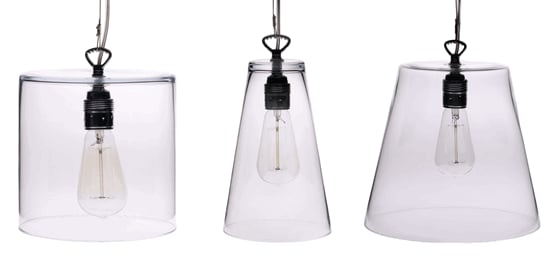 Nice and New: Inside Avenue Modern Glass Pendants